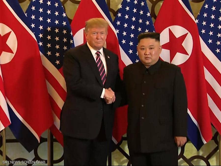 زعيم كوريا الشمالية: ترامب أصبح أول رئيس أمريكي يزور بلادنا..