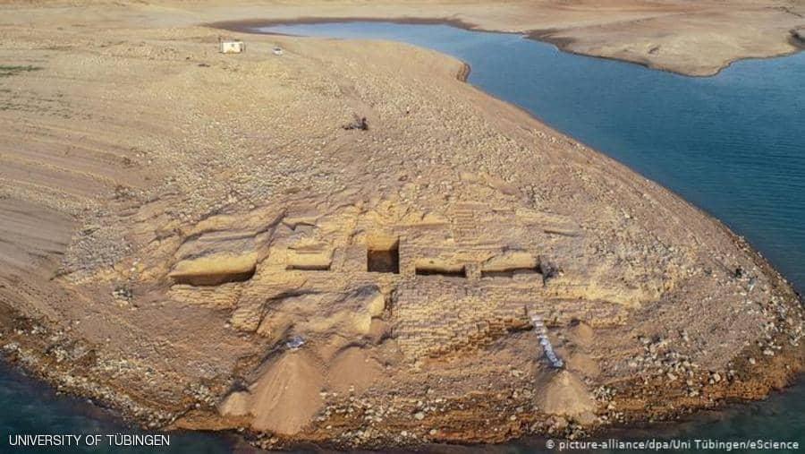 """الموصل: اكتشاف قصر """"الإمبراطورية الغامضة"""""""