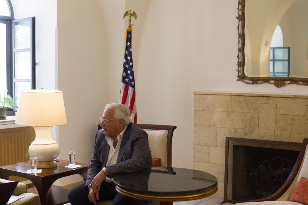 فريدمان: لإسرائيل الحق في ضم أجزاء من الضفة