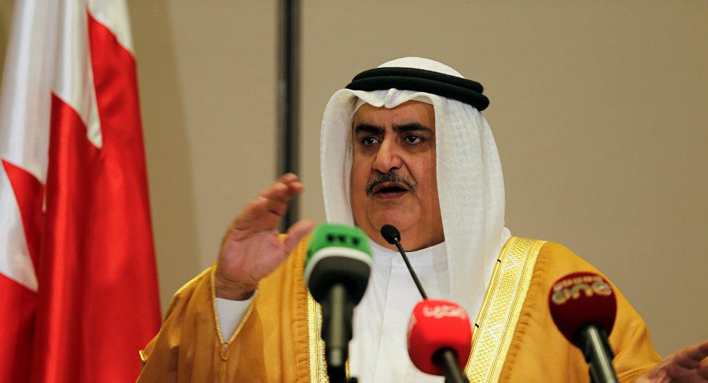 وزير خارجية البحرين: إسرائيل جزء أساسي وشرعي من منطقة الشرق الأوسط