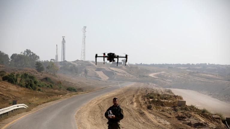 تحطم طائرة إسرائيلية مسيّرة في أراضي غزة