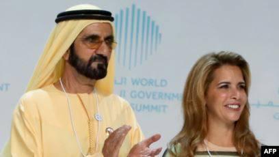 حاكم دبي يقاضي زوجته في بريطانيا