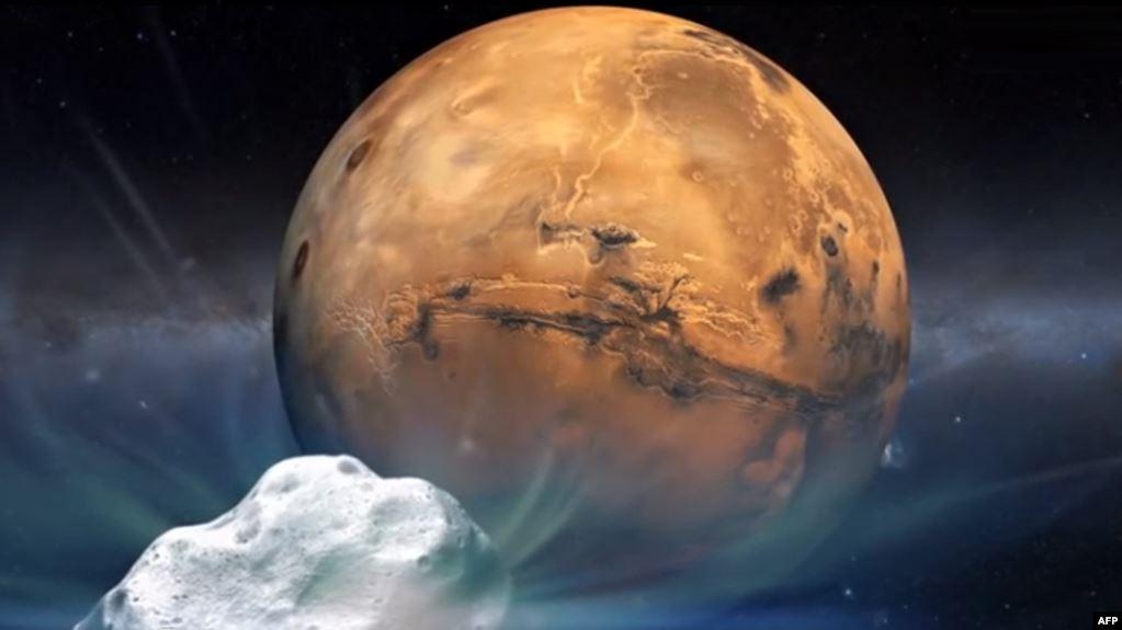 """""""الدخان المجمد"""".. أمل البشرية في الحياة على المريخ"""