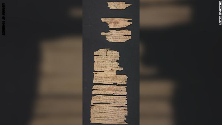 مكتبة الكونغرس تكشف عن نص نادر للحضارة البوذية عمره 2000 عام