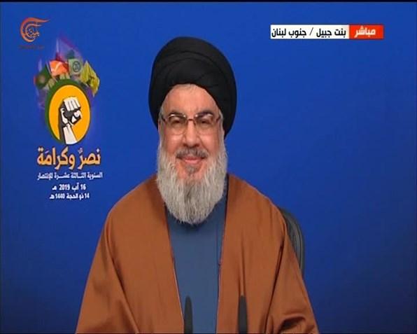 نصر الله: سيحضر الإسرائيليون بثاً مباشراً لتدمير ألويتهم العسكرية إذا دخلت لبنان