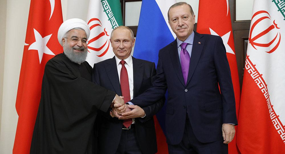 بوتين: تركيا وروسيا وإيران وضعت أساس الحل الدائم في سوريا