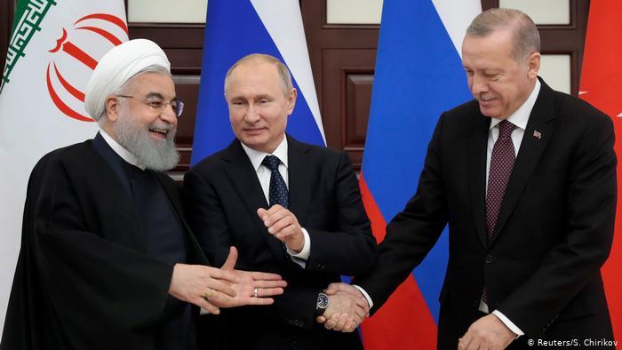 أردوغان وبوتين وروحاني يجتمعون في أنقرة لبحث الصراع في سوريا