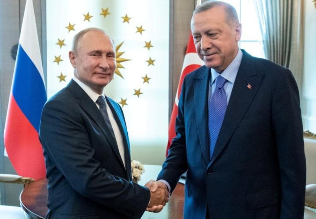 مصدر تركي: أردوغان وبوتين سيناقشان انسحاب وحدات حماية الشعب الكردية