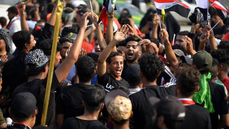 التلفزيون العراقي: الجيش يعلن حظر التجول في بغداد