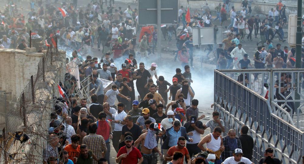 انقطاع خدمة الإنترنت في جميع أنحاء العراق