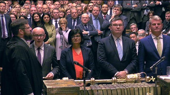 رئيس البرلمان البريطاني يرفض طلب الحكومة الاقتراع مجددا على اتفاق الخروج