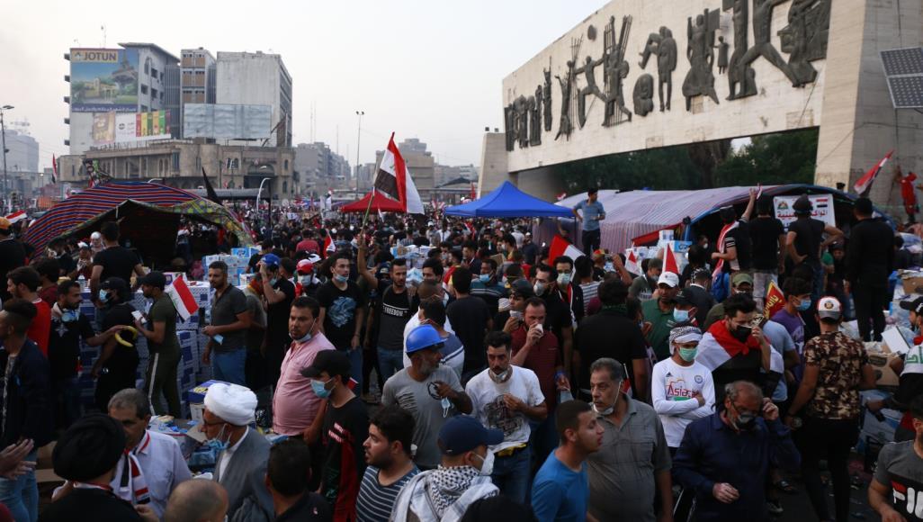 مصادر: مقتل شخصين وإصابة 175 في احتجاجات بغداد