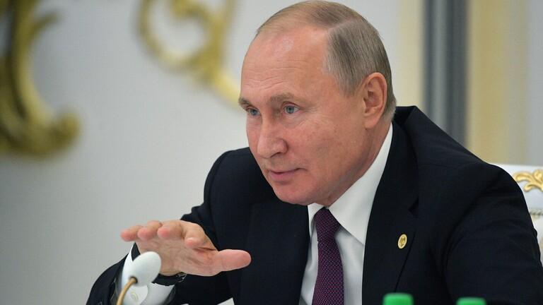 بوتين يحذر من احتمال فرار متشددي الدولة الإسلامية خلال العملية التركية