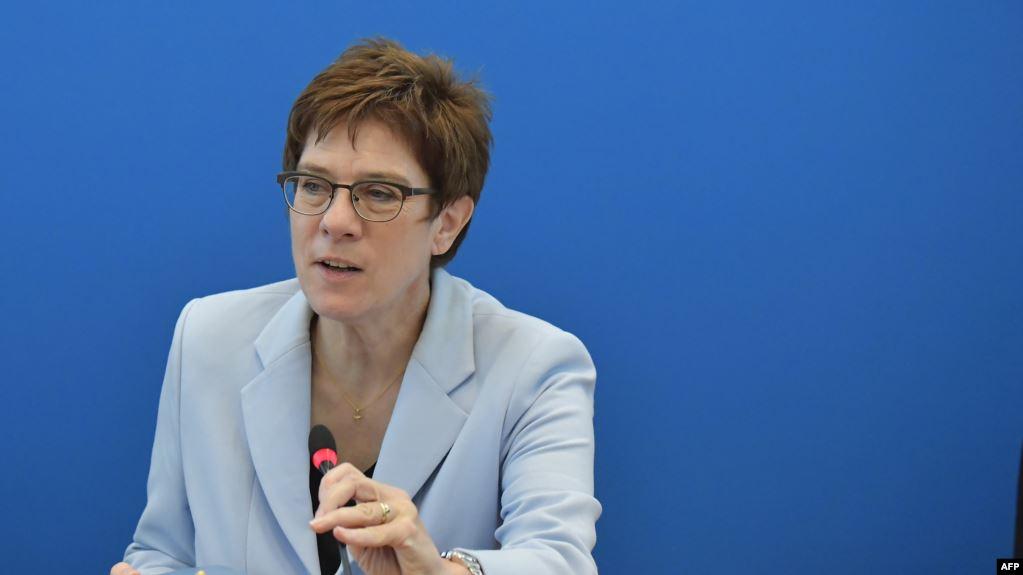 وزيرة ألمانية تقترح منطقة أمنية في شمال سوريا