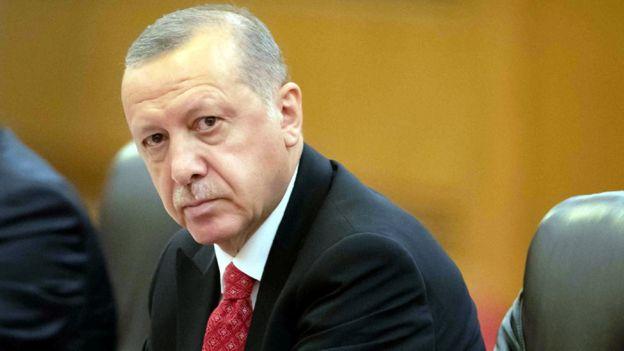 أردوغان: تركيا اعتقلت زوجة للبغدادي في سوريا