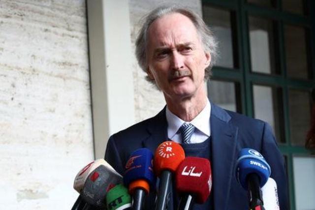 مبعوث أممي: محادثات دستور سوريا تنتهي دون توافق على جدول أعمال