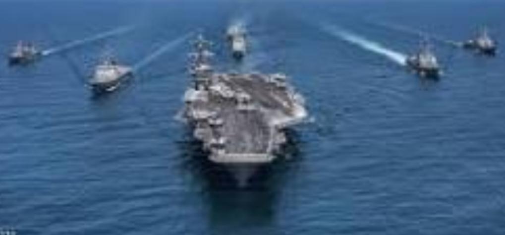 بارجة أمريكية في الخليج تصادر أجزاء صواريخ يعتقد أن مصدرها إيران
