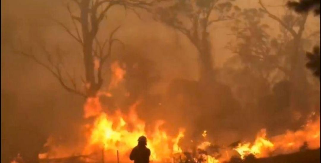 رجال الإطفاء بأستراليا يحذرون من استمرار الحرائق مع ارتفاع درجات الحرارة