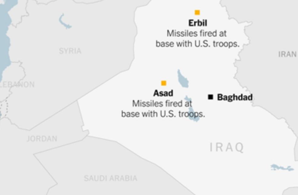 نيويورك تايمز: ما نعرفه عن القاعدتين اللتين هاجمتهما إيران