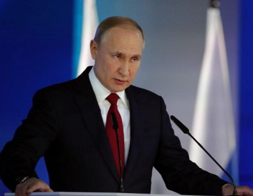 بوتين: لم نفقد الأمل في استمرار الحوار وحل الصراع الليبي
