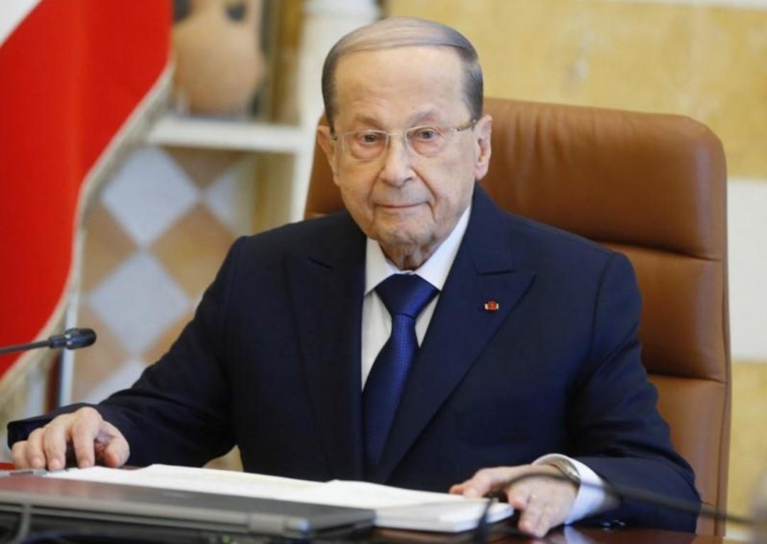 عون يطالب الحكومة الجديدة باستعادة ثقة المجتمع الدولي