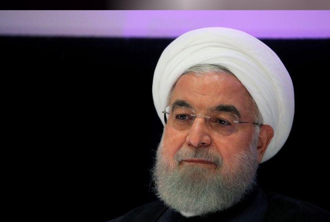روحاني: حوالي نصف موظفي الدولة في إيران يمكثون في المنازل