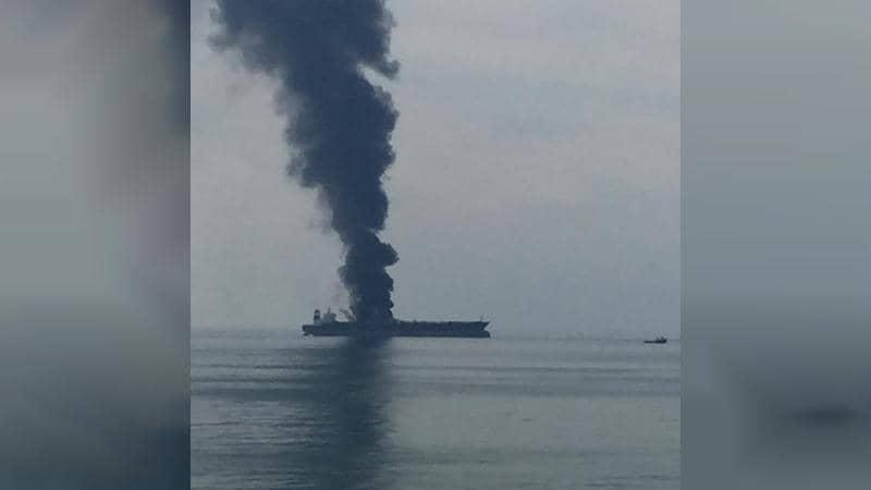 اندلاع حريق في ناقلة نفط ترفع علم بنما قبالة ساحل الإمارات
