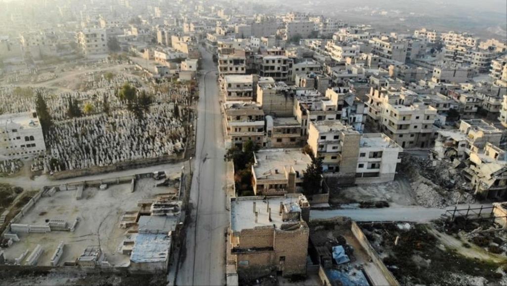 مرصد: الجيش السوري يسيطر على مدينة معرة النعمان جنوبي مدينة إدلب