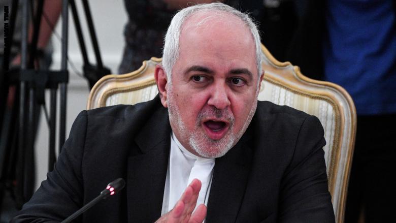 وزير الشؤون الخارجية العماني يجتمع مع وزير خارجية إيران