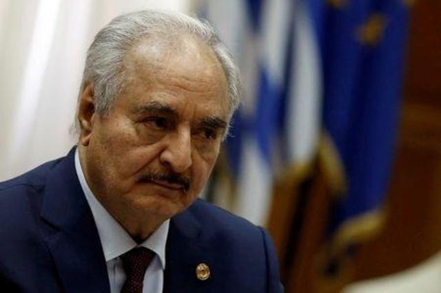 قائد قوات شرق ليبيا خليفة حفتر يصل برلين