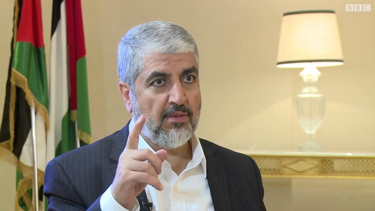 مشعل: الفلسطينيون سيفشلون خطة ترامب للسلام في الشرق الأوسط