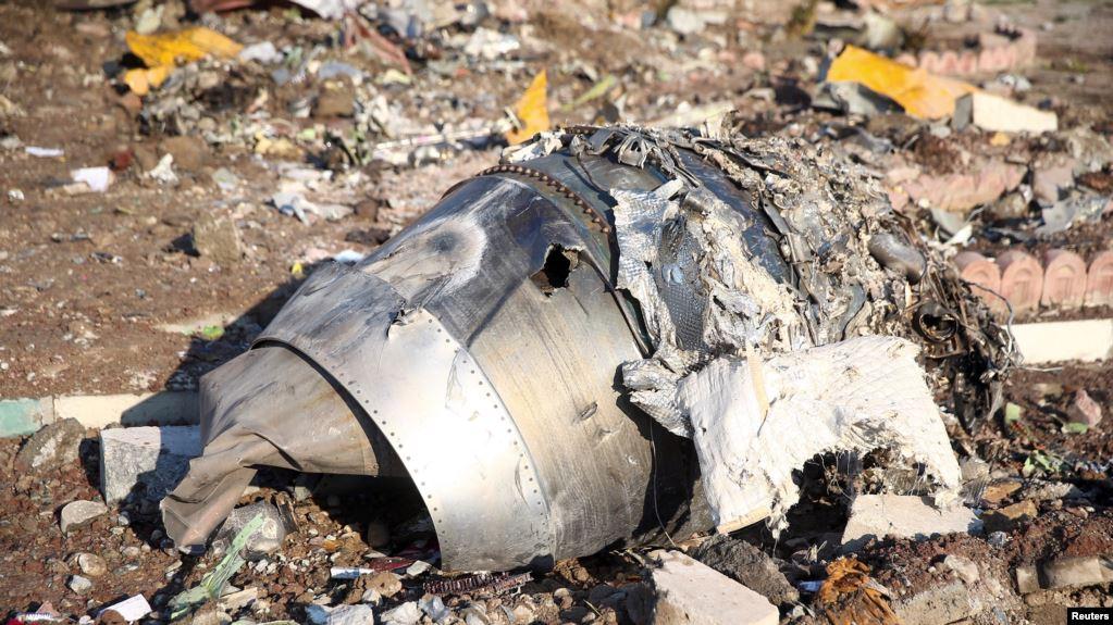 المحققون الأوكرانيون يريدون البحث في حطام الطائرة في طهران