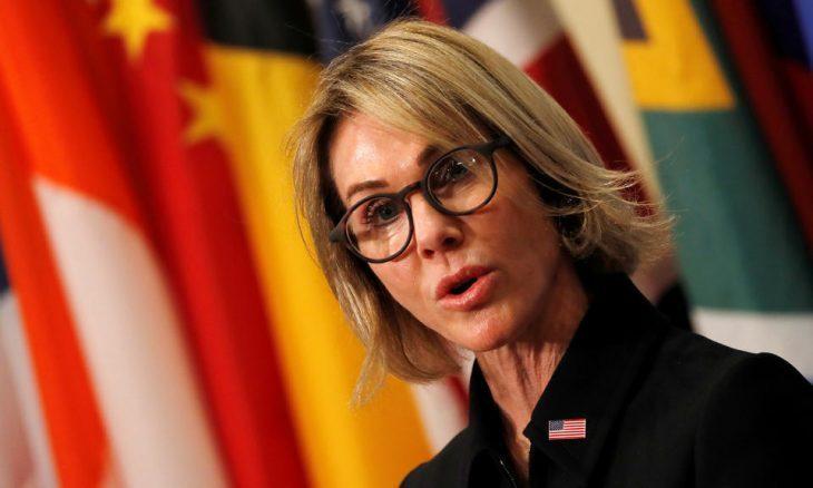 السفيرة الأمريكية بالأمم المتحدة تحذر الفلسطينيين من معارضة خطة السلام