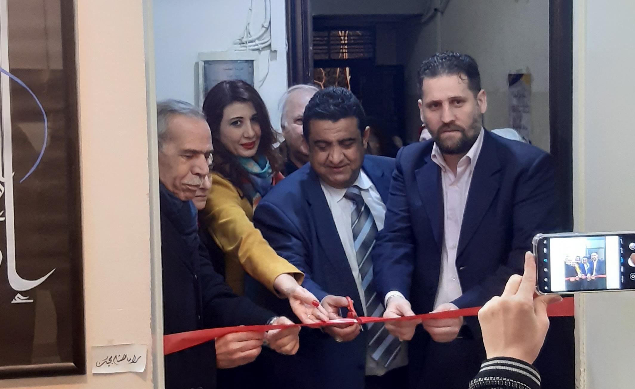 """بمناسبة يوم المرأة العالمي افتتاح  معرض"""" تجارب أنثوية """" في ثقافي أبو رمانة"""