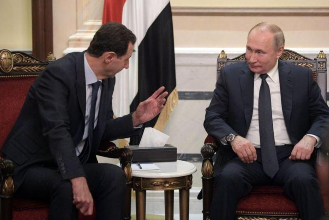 الكرملين: بوتين بحث مع الأسد اتفاق وقف إطلاق النار في إدلب