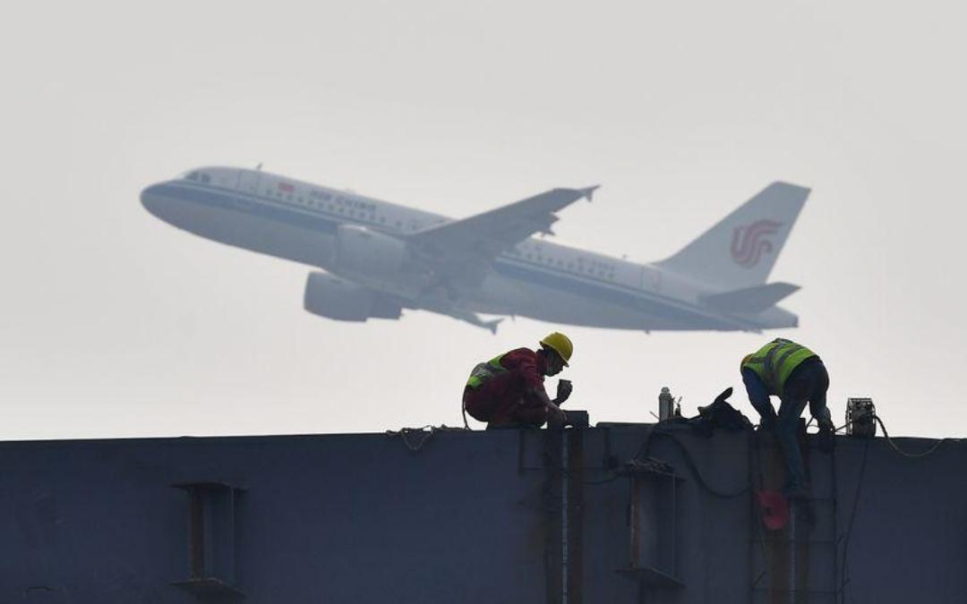تلفزيون: الصين ترسل طائرة إلى إيطاليا لإجلاء مواطنين