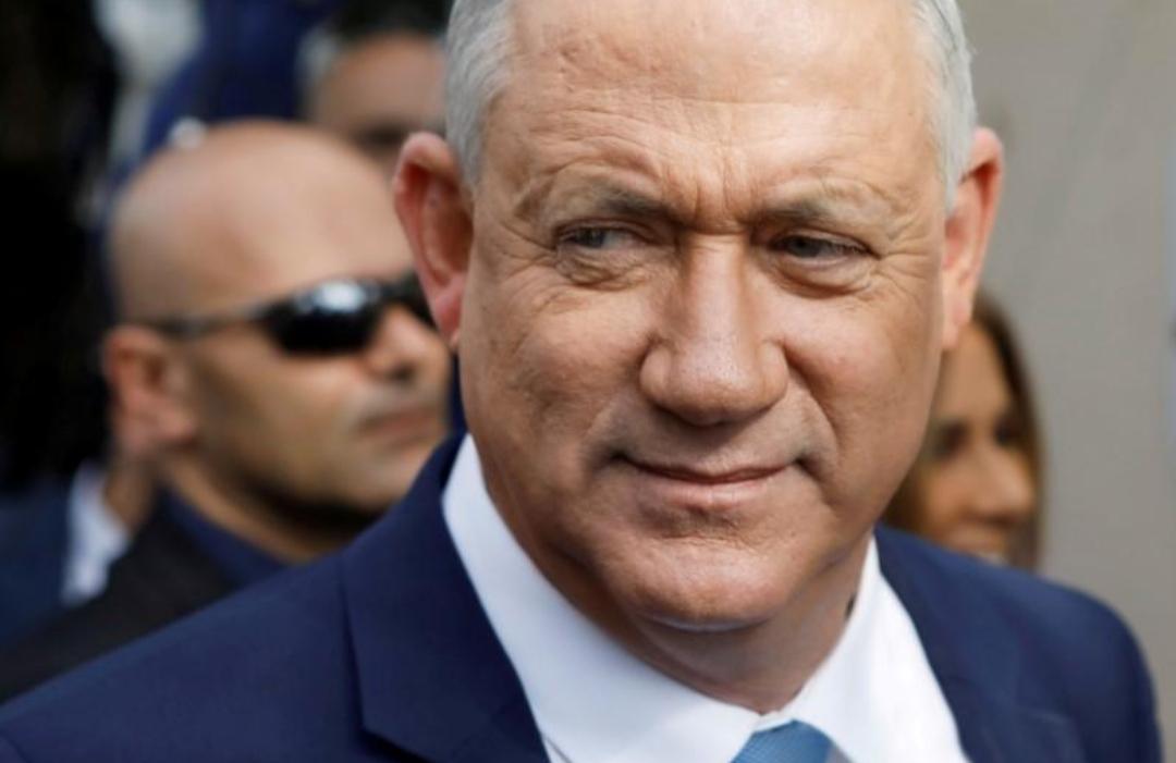 انتخاب غانتس رئيساً للبرلمان الإسرائيلي