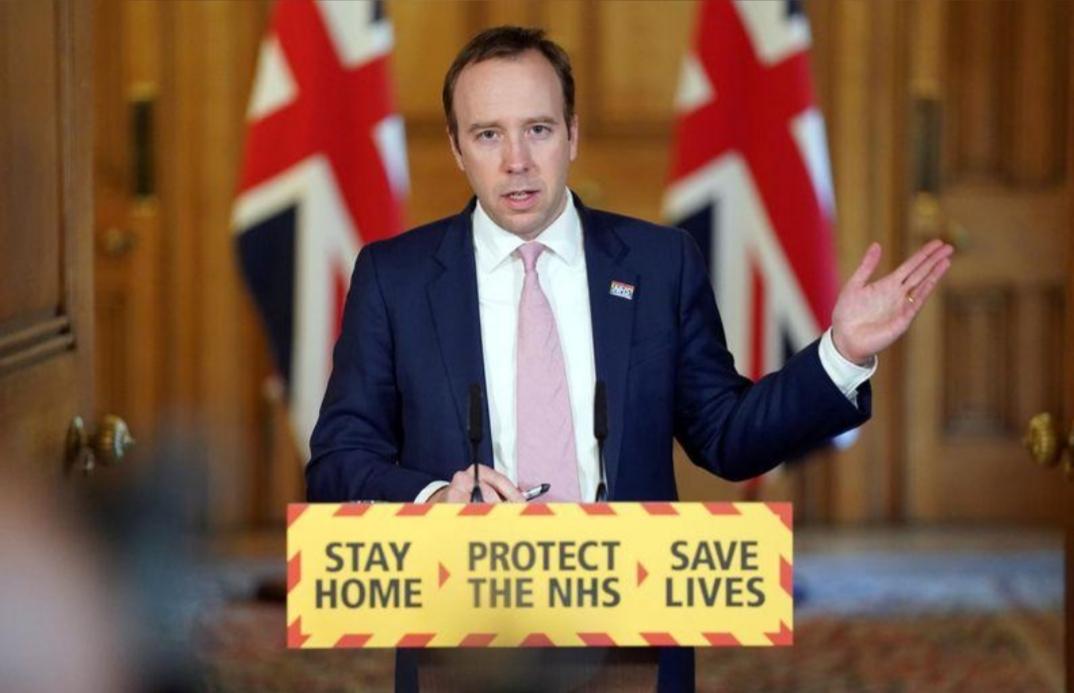 وزير الصحة البريطاني ينفي وجود خلافات مع وزير المالية بشأن إجراءات العزل