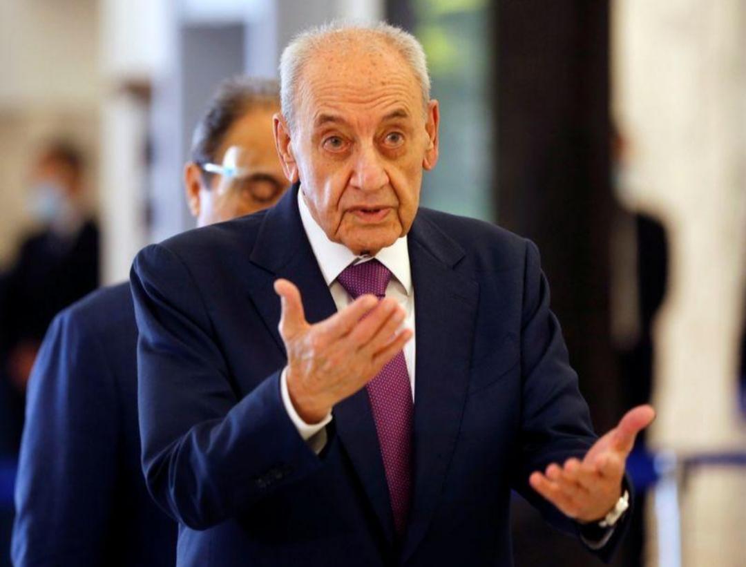 رئيس مجلس النواب اللبناني يقول للحكومة حان الوقت للأفعال لا الأقوال
