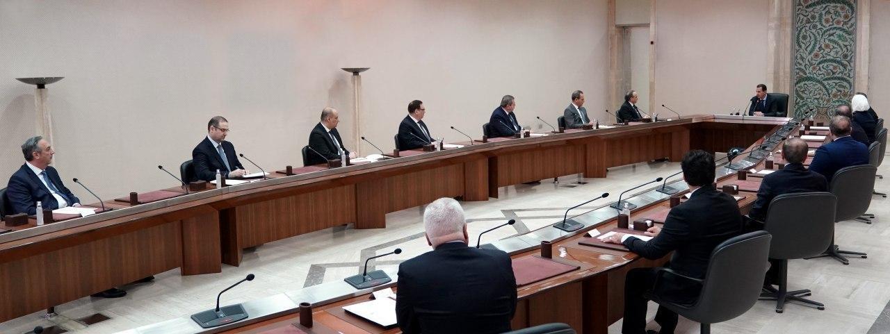 الرئيس السوري يحذر من كارثة في البلاد إذا ارتفعت حالات الإصابة بفيروس كورونا
