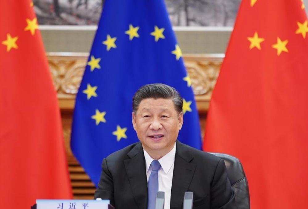 """شي يتطلع إلى علاقات أكثر استقرارا ونضجا بين الصين والاتحاد الأوروبي في مرحلة ما بعد """"كوفيد-19"""""""
