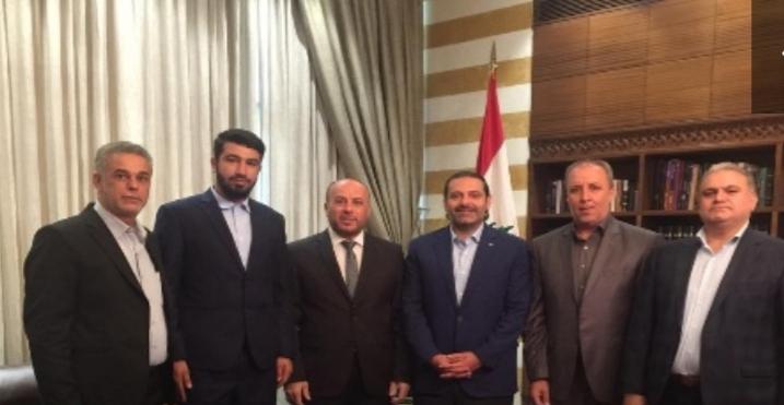 ممثل حماس في لبنان يلتقي الحريري ويسلمه رسالةً من رئيس الحركة إسماعيل هنية