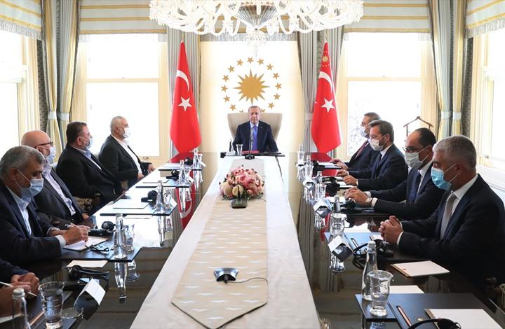 """واشنطن تعترض على لقاء أردوغان بقيادة """"حماس"""""""