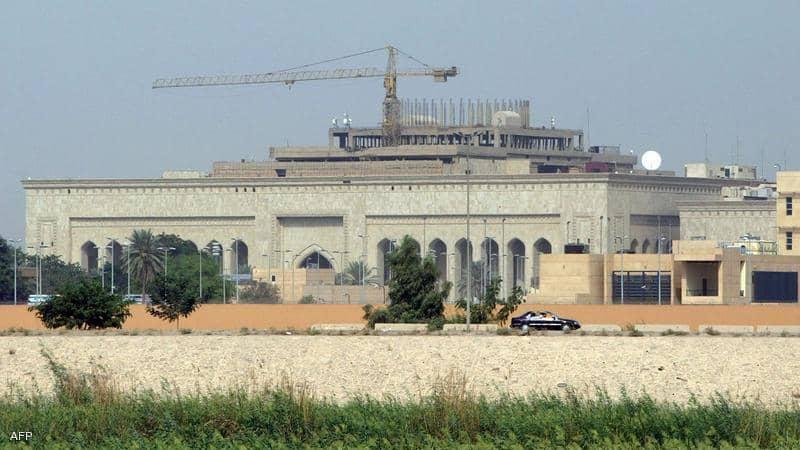 صواريخ تستهدف السفارة الأمريكية في بغداد