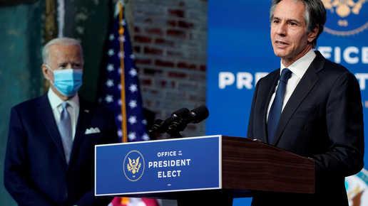 بلينكن يمتنع عن تأييد قرار ترامب بالاعتراف بالسيادة الإسرائيلية على الجولان