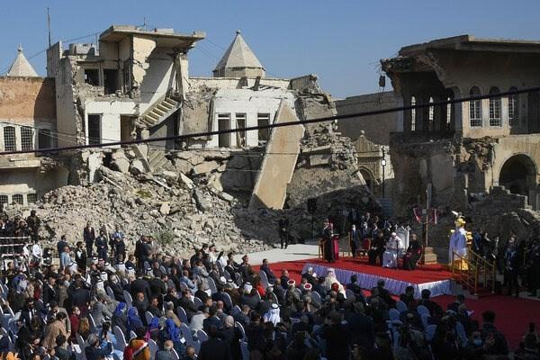 """""""نيويورك تايمز"""": البابا يزور الموصل.. قلب العراق الجريح"""