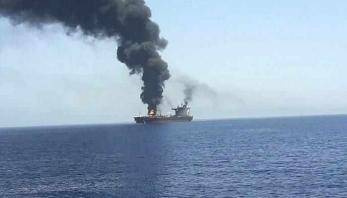 سفينة بملكية إسرائيلية تتعرض لهجوم مسلح في خليج عُمان