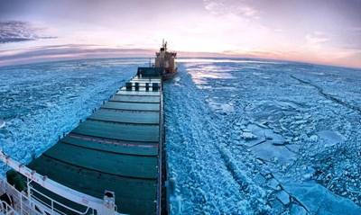 """""""ناشونال انترست"""": الصين تطلع إلى القطب الشمالي كممر بديل عن قناة السويس"""