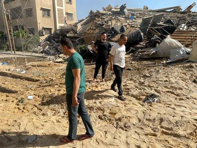 ماخلفه العدوان الإسرائلي على قطاع غزة