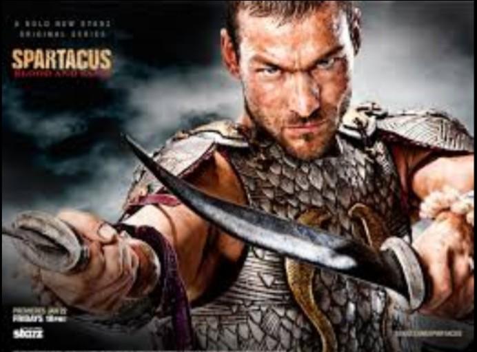 Spartacus مسلسل